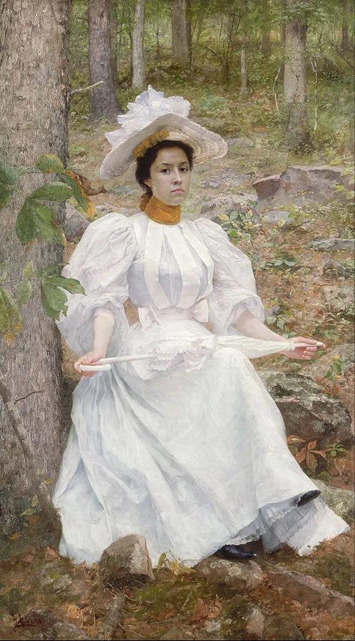 Софи Хантер Колстон. Уильям Робинсон Ли, 1896.