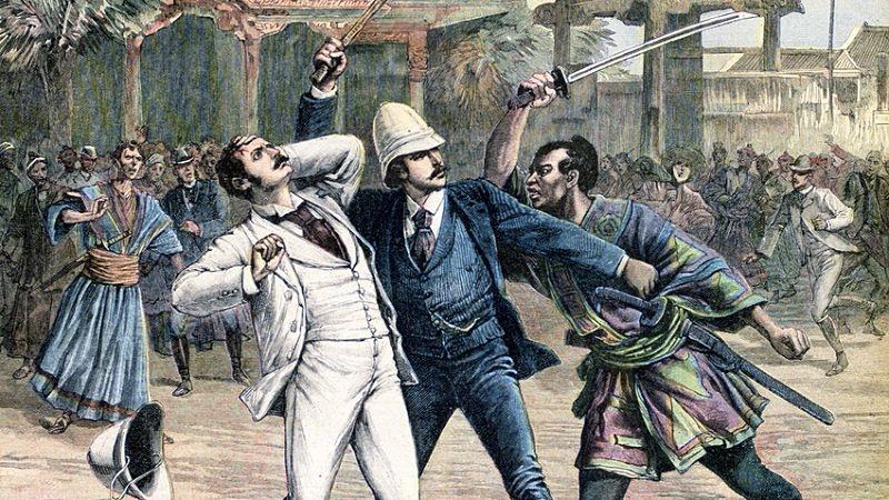 Из парижского журнала Le Petit Journal, 30 мая 1891 года.