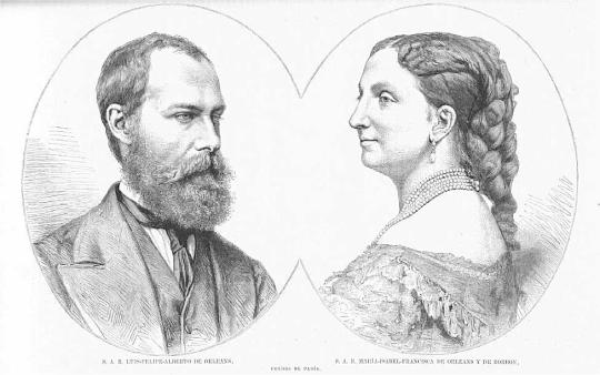 Родители Елены. Изображение с сайта ru.wikipedia.org.