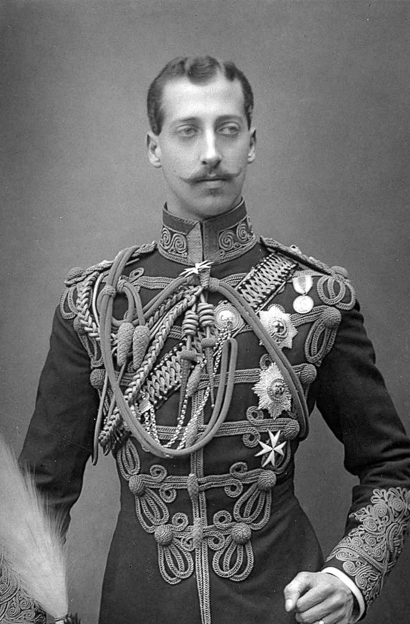 Альберт Виктор в 1891 году.