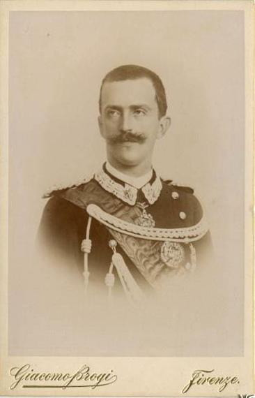 Виктор Эммануил в 1895 году.
