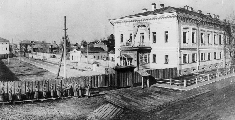 Дом губернатора в Тобольске, где жили Романовы