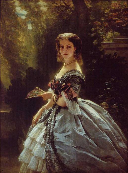 Княгиня Елизавета Эсперовна Трубецкая, 1859.