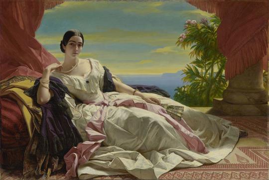 Портрет княгини Леониллы Ивановны Витгенштейн, 1843.