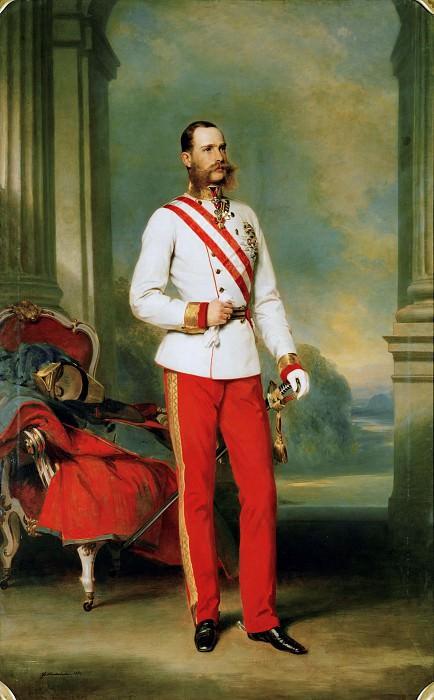 Франц Иосиф I, император австрийский, 1865.