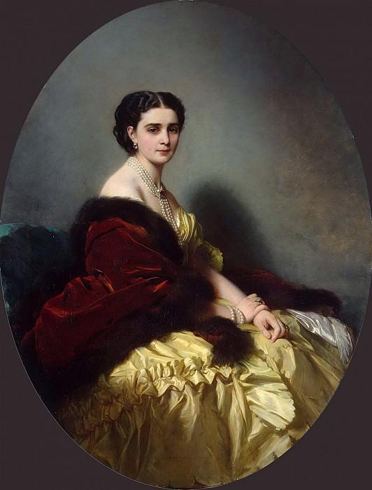 Софья Петровна Нарышкина, 1858.