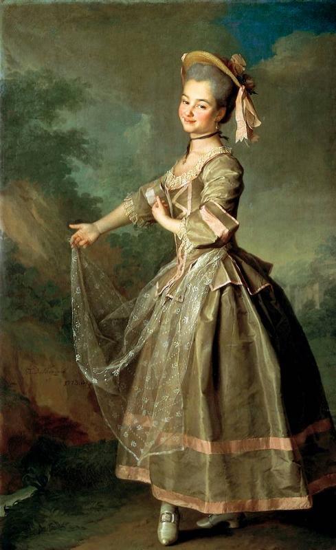 Екатерина Нелидова - одна из первых выпускниц Смольного института, любимица Екатерины Великой и фаворитка Императора Павла.
