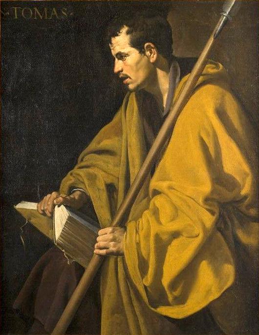 Апостол Фома кисти Веласкеса.