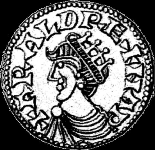 Монета Харальда с его изображением. Думаю, в живую он был посимпатичнее)))