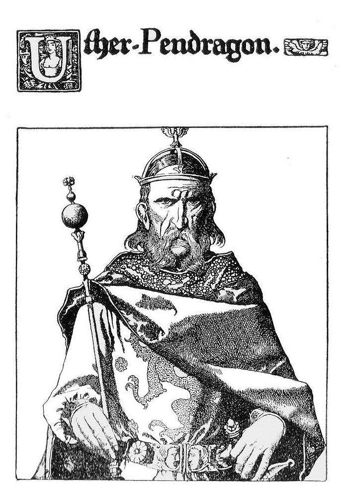 Утер Пендрагон, отец Артура.