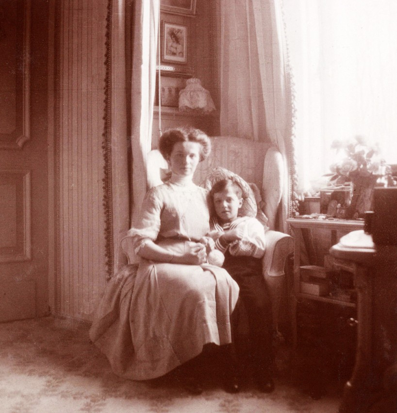 Ольга с младшим братом Алексеем.
