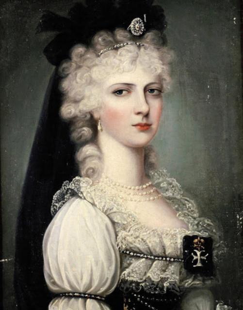 Александра Павловна, жена эрцгерцога Иосифа Австрийского.