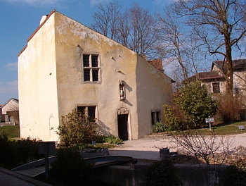 Дом Жанны д'Арк в Домреми.