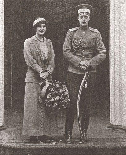 Мария и Дмитрий, дети Павла Александровича от первого брака.