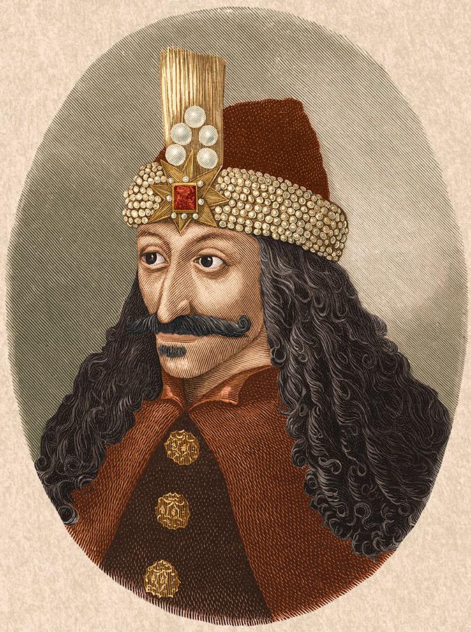 Влад Цепеш, Историческое изображение.