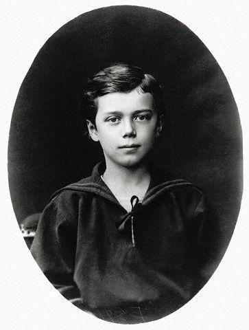 Великий князь Николай Александрович. 1878-1879 год.