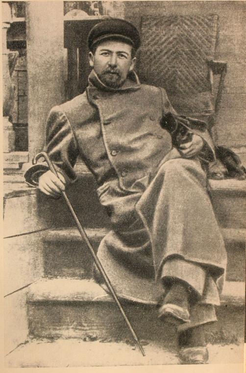 Антон Павлович Чехов, 1890-е. Те самые длинные пальто...
