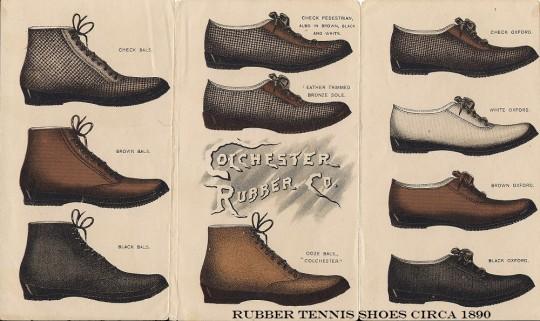 Мужская обувь девяностых.