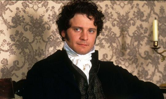 """Колин Фёрт в образе мистера Дарси (""""Гордость и Предубеждение"""", экранизация 1995-го года)."""