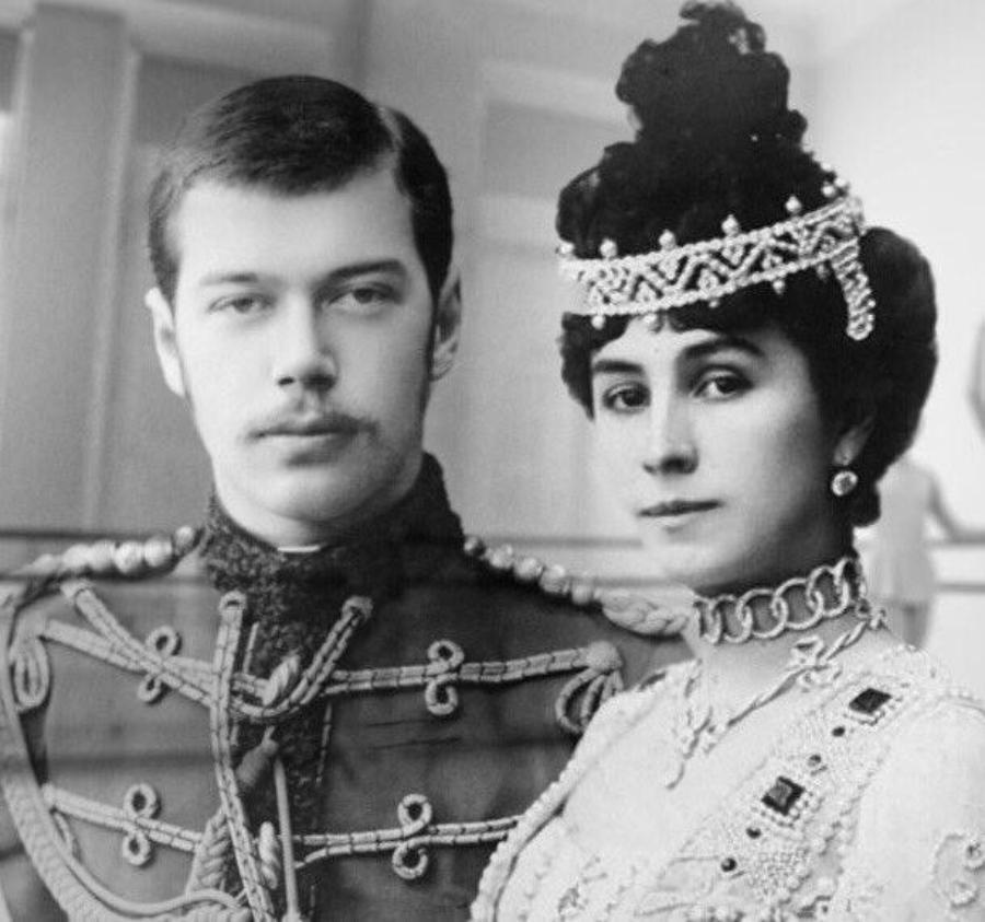 Цесаревич Николай и Матильда Кшесинская