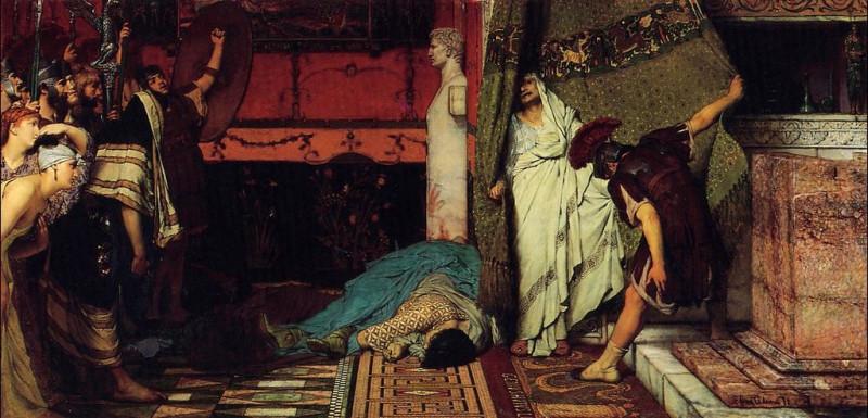Римский император. Лоуренс Альма-Тадема.