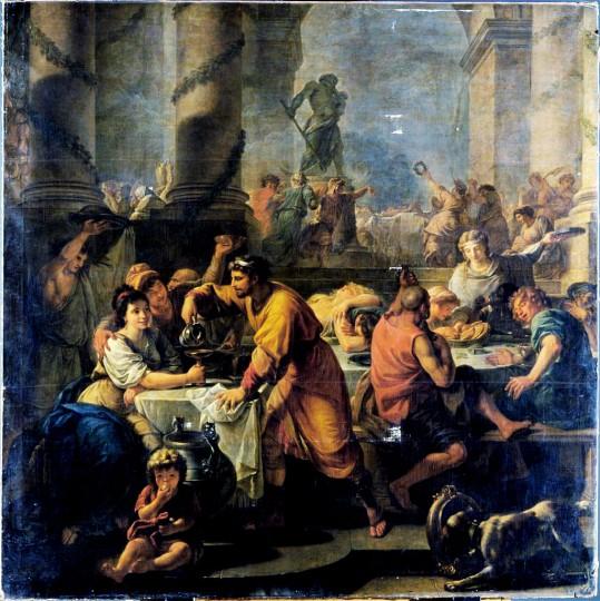 Сатурналии. Антуан Франсуа Калле.