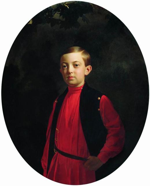 Портрет великого князя Николая Александровича, Сергей Зарянко, 1851.