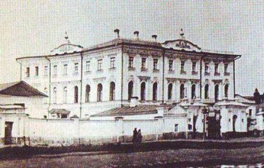Дом Зубкова в начале XX века.
