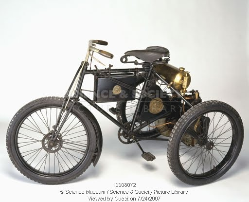 Трицикл. Автор фото указан на самом изображении.