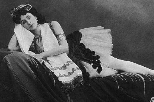 Балерина Малечка Кшесинская.
