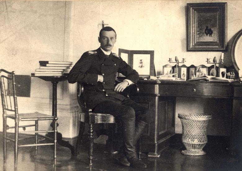 Георгий Александрович в Абастумани. Конец 1890-х.