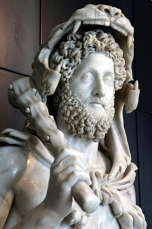 Коммод в образе Геркулеса, с которым он себя отожествлял.