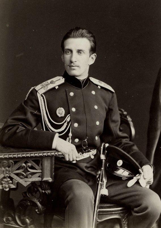 Николай Константинович в молодости.