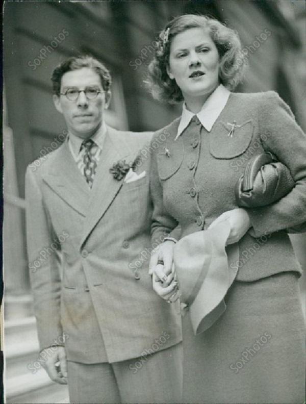 Всеволод Иоаннович с женой Мэри Лигон. Права на изображение принадлежат SoxPhotos.