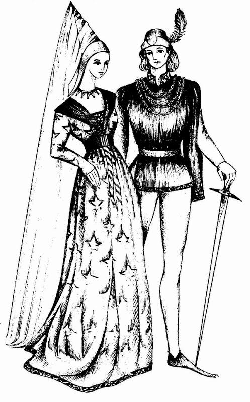 Одним из показателей женской красоты был очень высокий лоб, поэтому многие женщины сбривали волосы на лбу, чтобы визуально его увеличить.