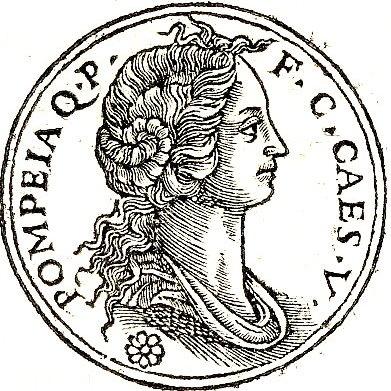 Помпея Сулла. Изображение из сборника Promptuarii Iconum Insigniorum (1553).