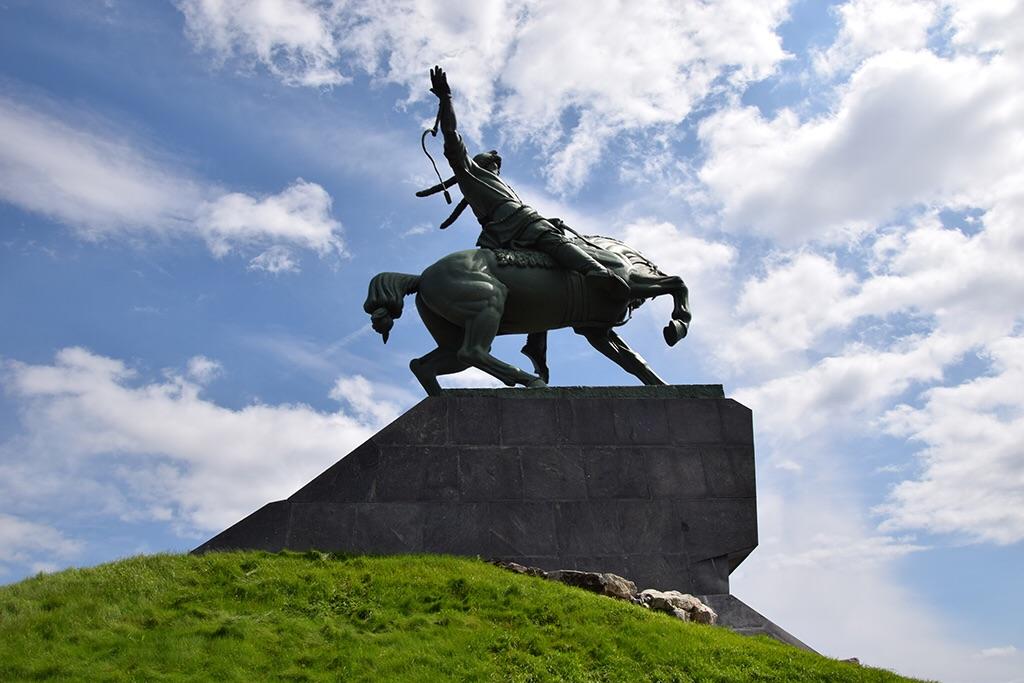 салавата на раскраска коне юлаева