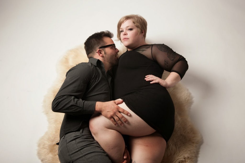 Фото толстушек с мужиком