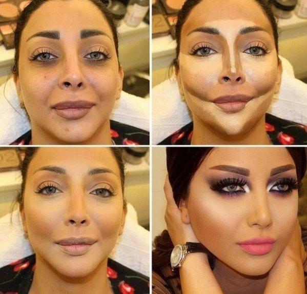 Как правильно наносить макияж на лицо в 50 лет 10