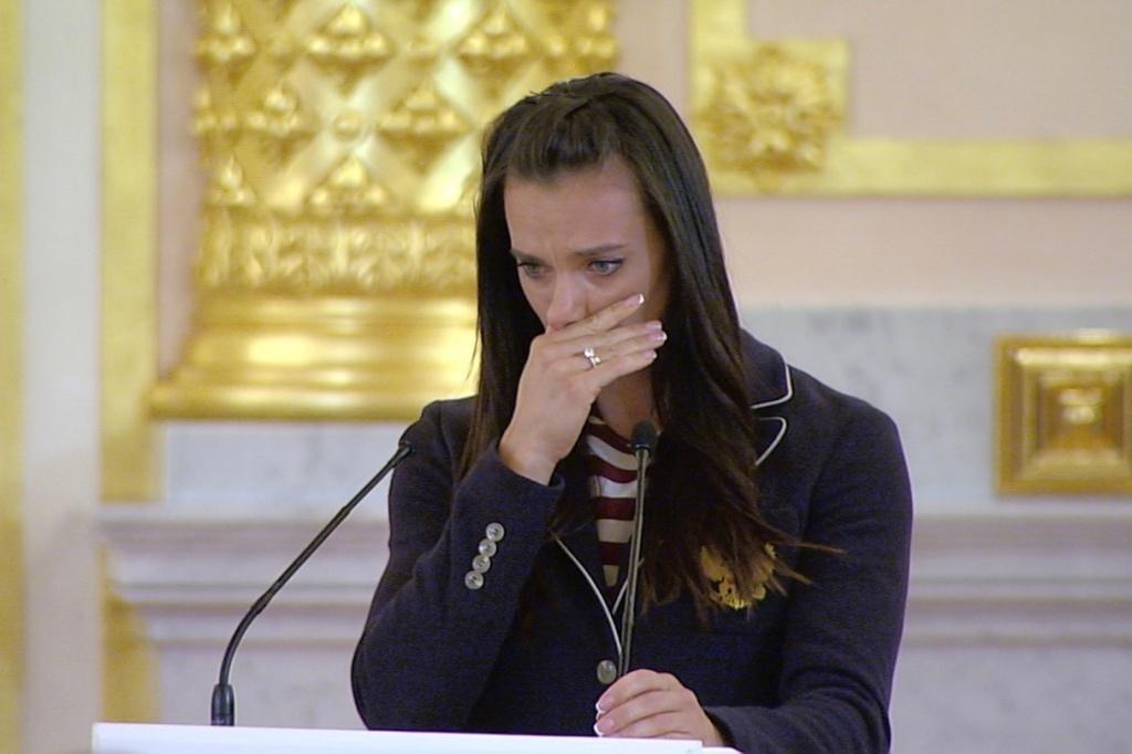 Плач Исинбаевой