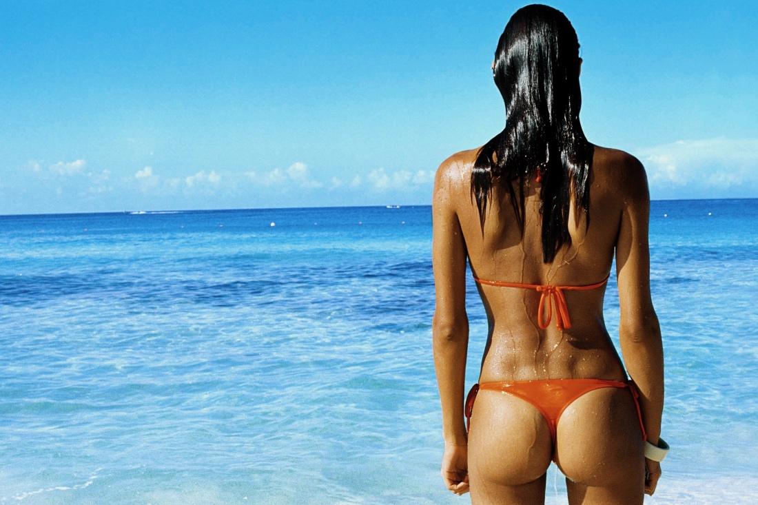 Красивое тело девушки вид со спины — photo 15