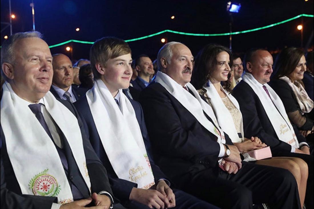 «Спутница» президента Лукашенко