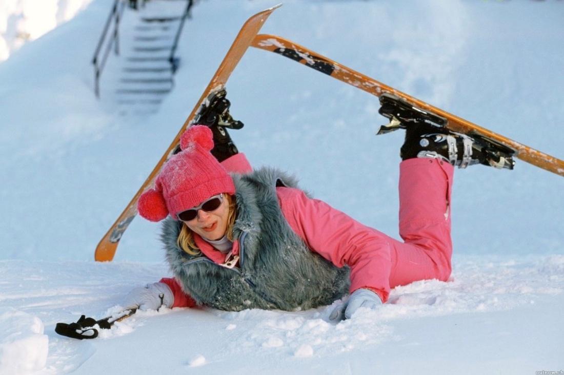Картинки с лыжами смешная, днем рождения картинки