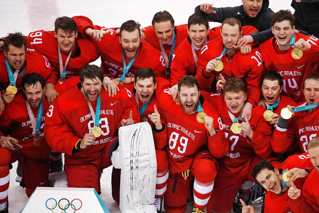Золото команды без страны
