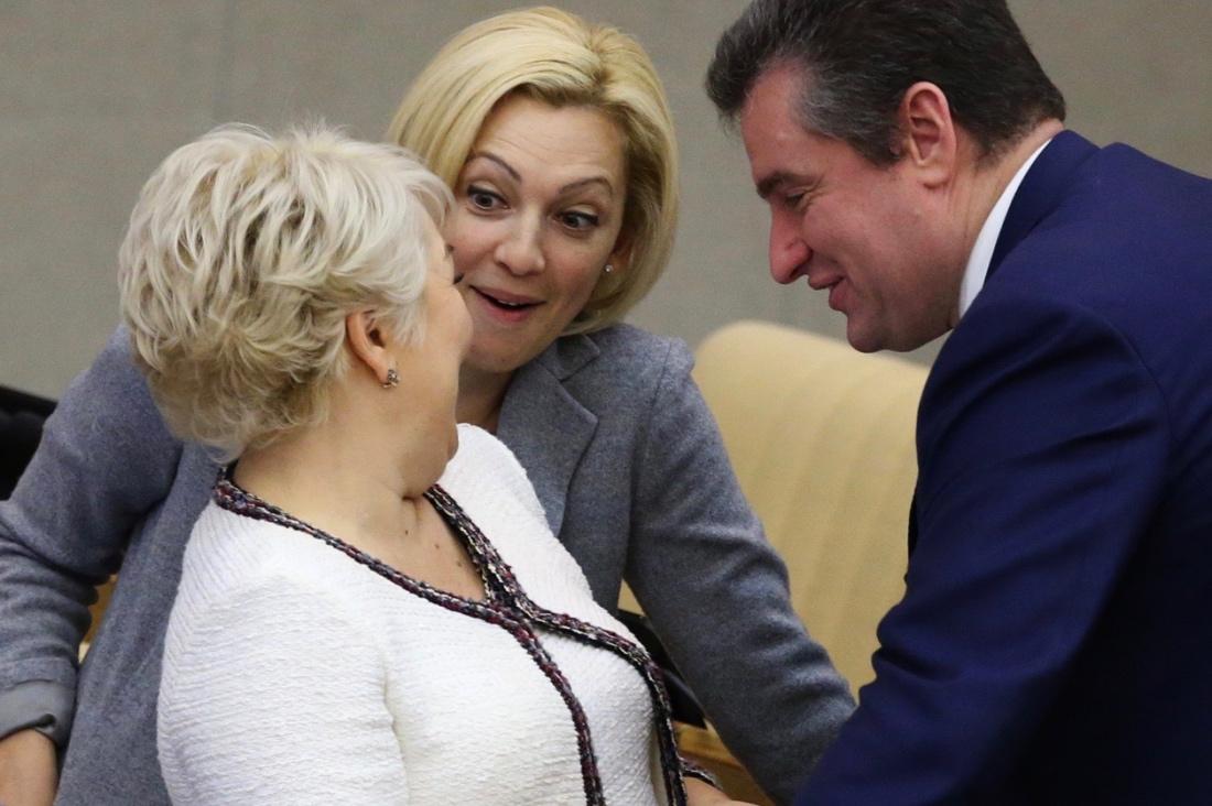 Грязные домогательства в Госдуме