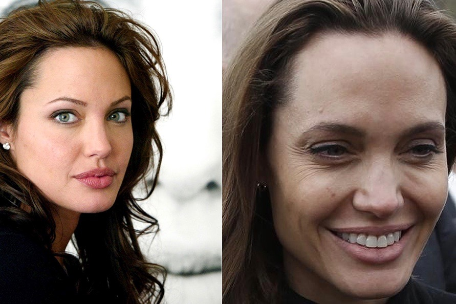 Tired of being beautiful? beautiful, woman, Angelina, Jolie, Images, woman, Getty, beautiful, grandma, Could, prematurely, made, it seems, for some reason, became, elegant, youthful, please, head, black