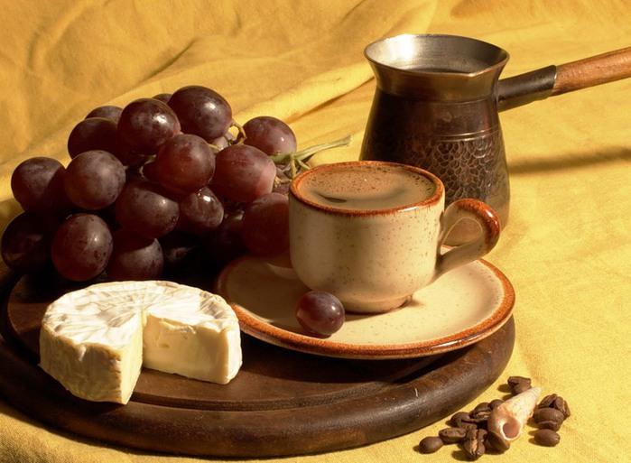 кофе сыр