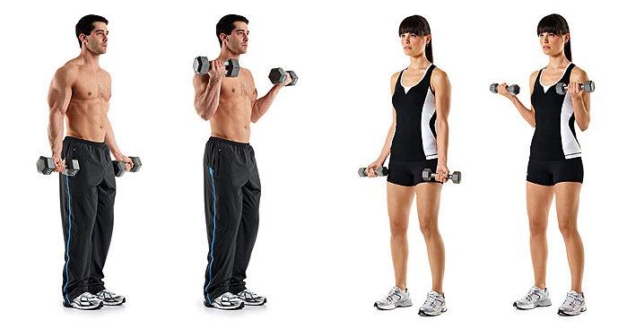 Фото как правильно делать упражнение молот