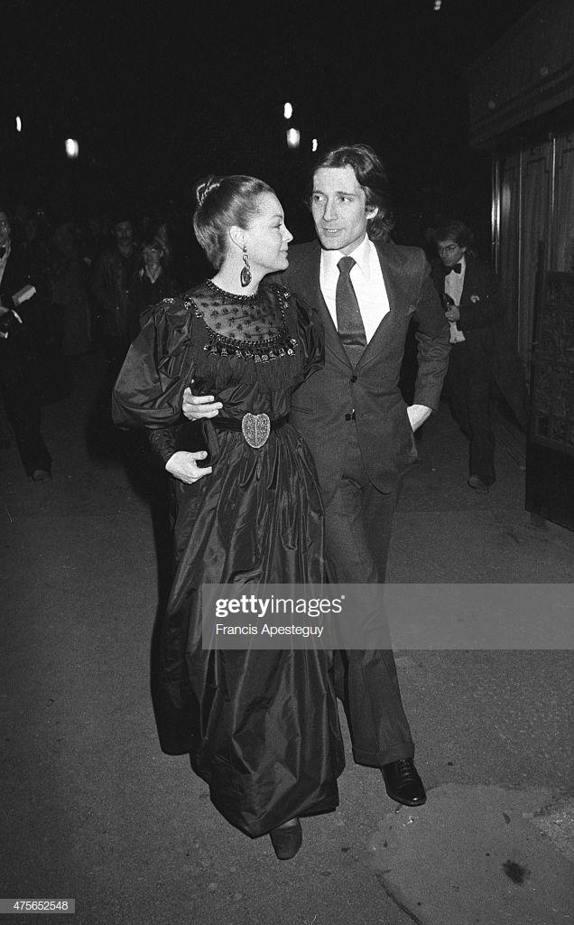 Роми Шнайдер со вторым мужем Даниэлем Бьязини