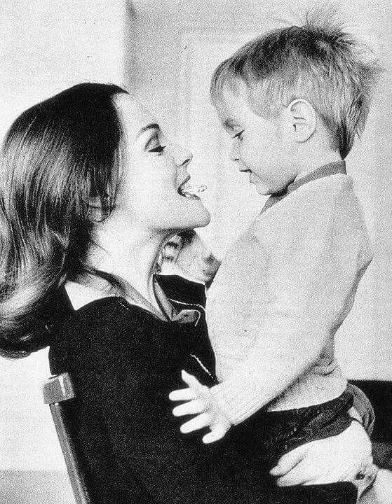 Роми Шнайдер с сыном Давидом